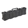 SKB Cases 3R Roto Mil-Std Waterproof Case 7 Deep , Black - empty, with Wheels and Tow Handle 52 x 12 x 8