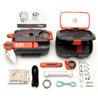 SOL Origin Pocket Survival Tool Box w/ Core Lite Knife, Fire Lite, Survival Essentials 0140-0828