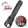 Streamlight PolyStinger DS Dual Switch LED Flashlight with Steady Charger and PiggyBack Holder