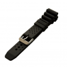 Stryker Watch Silicone Strap w/ Brushed SS