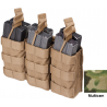 Tactical Assault Gear MOLLE Double Stacked Shingle (6) Pouch