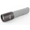 Terralux Colorado Flashlight, 580 Lumens, Black/Gray