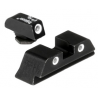 Trijicon GL04 High Rear 3 Dot Front & Rear Night Sight Set for 20 / 21 / 29 / 30 Glock Pistol