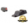 Trijicon HD Night Sight Set For Glock - Orange/Yellow Front Outline