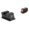 Trijicon Heavy Duty Night Sights Orange Front Outline Walther PPS WP102-C-600743