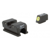 Trijicon Heavy Duty Night Sights Yellow Front Outline Walther 99/PPQ WP101-C-600737