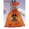 Tufpak Autoclavable Biohazard Bags, 2.0 mil 14220-034 Red Bags With Indicator