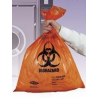 Tufpak Autoclavable Biohazard Bags, 2.0 mil 14220-050 Orange Bags With Indicator