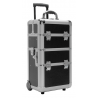 TZ Case AB318T Miniature Professional Rolling Beauty Case - Black Hole