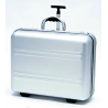 TZ Case DC50 Aluminum Silver Carry-On Size Wheeled Laptop Case