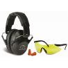 Walkers Pro-Low Profile Folding Muff/Glasses/Plugs Combo