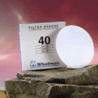 Whatman Grade No. 40 Quantitative Filter Paper, Ashless, Whatman 1440-090