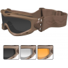 Wiley X SPEAR Tactical Goggles w/ Interchangeable Lenses